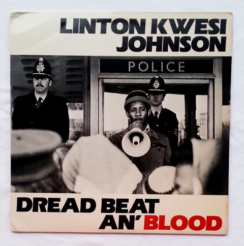 LP Linton Kwesi Johnson - Dread Beat An' Blood [VG+]