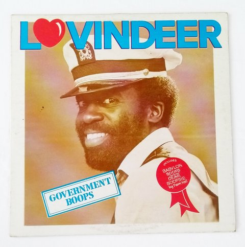 LP Lovindeer - Government Boops (Original JA Press) [VG]