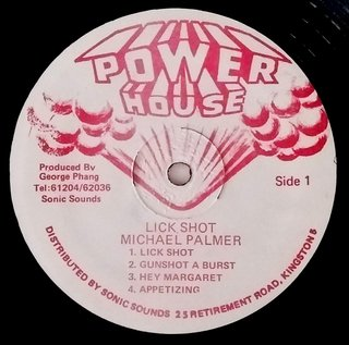 LP Michael Palmer - Lick Shot (Original JA Press) [VG+] na internet