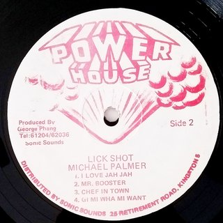 LP Michael Palmer - Lick Shot (Original JA Press) [VG+] - Subcultura