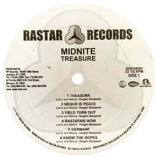 LP Midnite - Treasure [VG] na internet