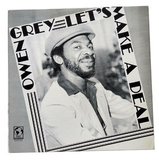 LP Owen Gray - Let's Make a Deal (Original US Press) [VG+]