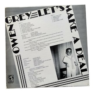 LP Owen Gray - Let's Make a Deal (Original US Press) [VG+] - comprar online
