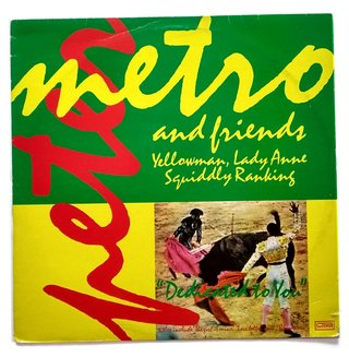 LP Peter Metro & Yellowman, Lady Anne, Squiddly Ranking - Dedicated To You (Original Press)