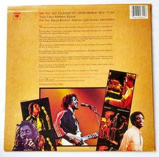 LP Peter Tosh - Equal Rights (Original US Press) [VG+] - comprar online