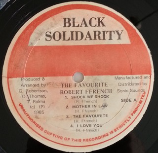 LP Robert Ffrench - The Favourite (Original Press) [VG+] - Subcultura