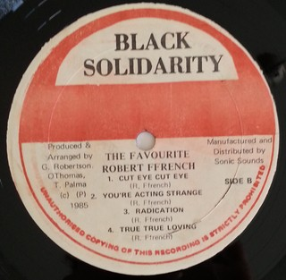 LP Robert Ffrench - The Favourite (Original Press) [VG+] - loja online