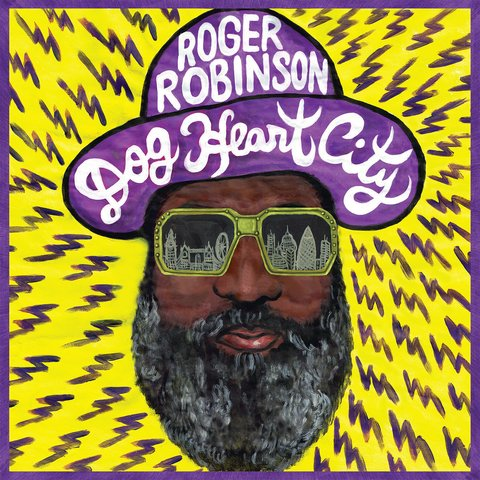LP Roger Robinson - Dog Heart City [NM]