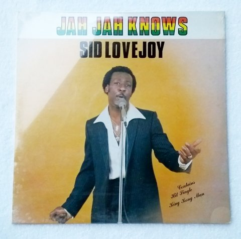 LP Sid Lovejoy - Jah Jah Knows (Original CA Press) [M]
