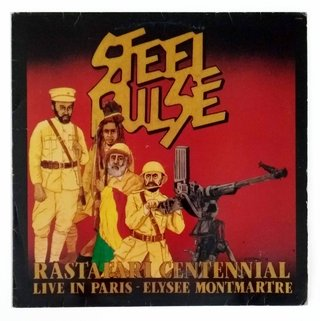 LP Steel Pulse - Rastafari Centennial (Live in Paris) [VG+]