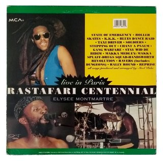 LP Steel Pulse - Rastafari Centennial (Live in Paris) [VG+] - comprar online