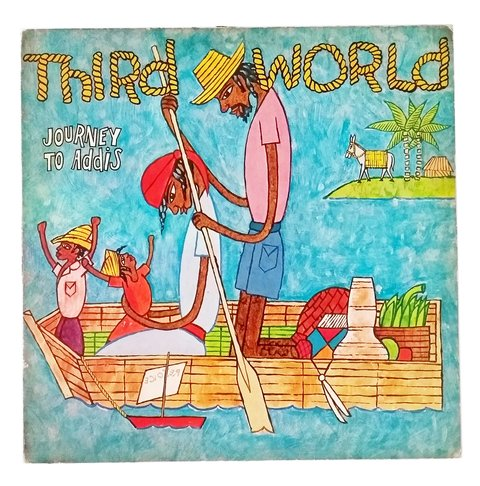 LP Third World - Journey to Addis (Original BR Press) [VG+]