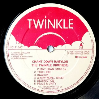 LP Twinkle Brothers - Chant Down Babylon (Original Press) [VG+] na internet