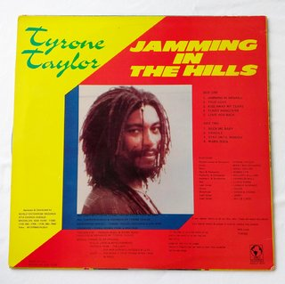 LP Tyrone Taylor - Jamming In The Hills (Original Press) [VG+] - comprar online