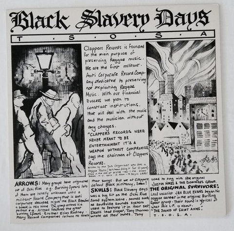 LP V.A. - Black Slavery Days [VG+]