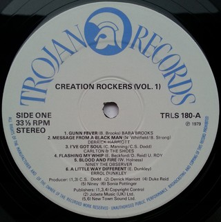 LP V.A. - Creation Rockers Vol. 1 (Original Press) [VG+] na internet