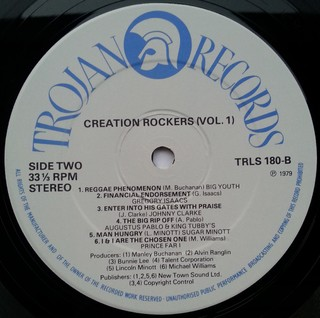 LP V.A. - Creation Rockers Vol. 1 (Original Press) [VG+] - Subcultura