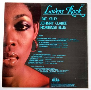 LP Johnny Clarke, Hortense Ellis & Pat Kelly - Lovers Rock (Original Press) [VG+]