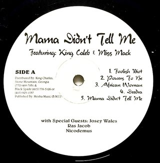 LP V.A. - Mama Didn't Tell Me (Original Press) [NM] na internet