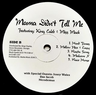LP V.A. - Mama Didn't Tell Me (Original Press) [NM] - Subcultura