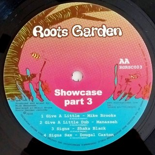 LP V.A. - Roots Garden Showcase Part 3 (Original Press) [NM] - Subcultura