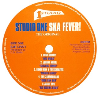 LP V.A. - Studio One Ska Fever! [VG] - Subcultura