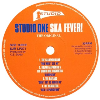 Imagem do LP V.A. - Studio One Ska Fever! [VG]