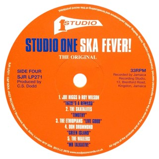 LP V.A. - Studio One Ska Fever! [VG]