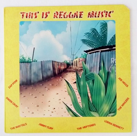 LP V.A. - This Is Reggae Music (Original US Press) [VG+]