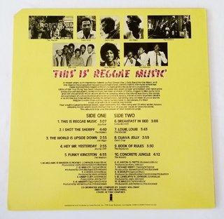 LP V.A. - This Is Reggae Music (Original US Press) [VG+] - comprar online