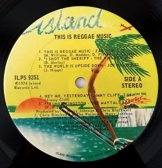 LP V.A. - This Is Reggae Music (Original US Press) [VG+] na internet