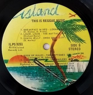 LP V.A. - This Is Reggae Music (Original US Press) [VG+] - Subcultura