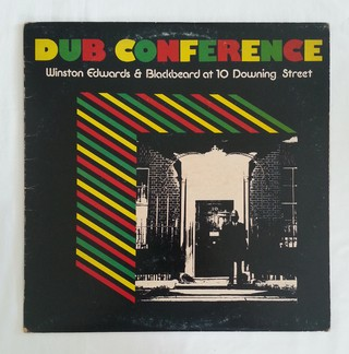 LP Winston Edwards & Blackbeard - Dub Conference (At 10 Dowing Street) (Original Press) [VG+] - comprar online