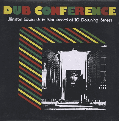 LP Winston Edwards & Blackbeard - Dub Conference (At 10 Dowing Street) (Original Press) [VG+]