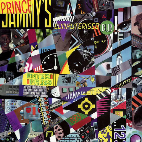 LP Prince Jammy - Computerised Dub (Original Press) [VG+]
