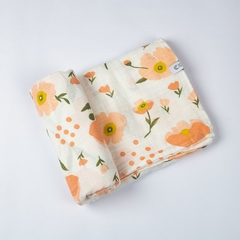 MANTA/ SWADDLE SPRING FLOWERS