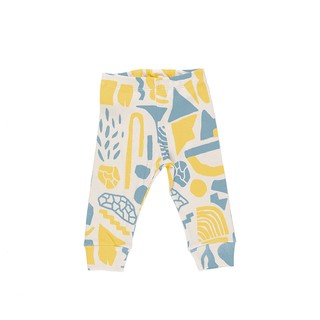 PANTALON BB LATIN AMARILLO Y GRIS