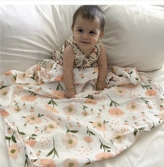 MANTA/ SWADDLE SPRING FLOWERS en internet