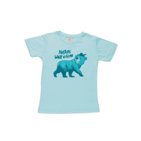 REMERA OSO WALK CENTRAL AQUA