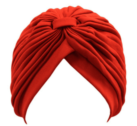 TURBANTE ROJO