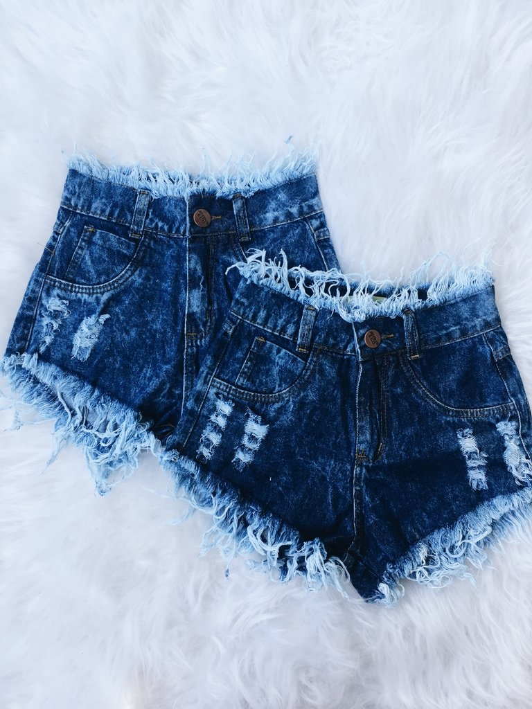 4e8690b2a Short jeans destroyed NOVO feminino estilo blogueira tumblr