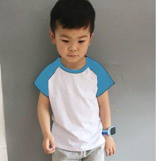 camisa raglan infantil