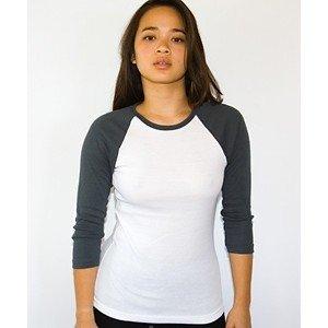 69fabf3329 Camiseta Raglan feminina manga 3 4 - MG Confecção