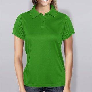 Polo Baby look verde bandeira