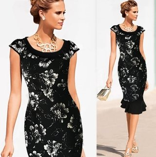 Vestido Estilo Night Flower