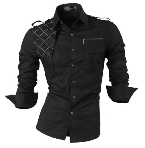 Camisa Estilo Fit Fashion