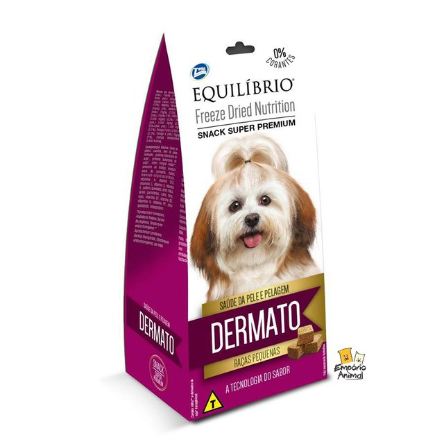 Snack Total Equilíbrio Freeze Dried Dermato