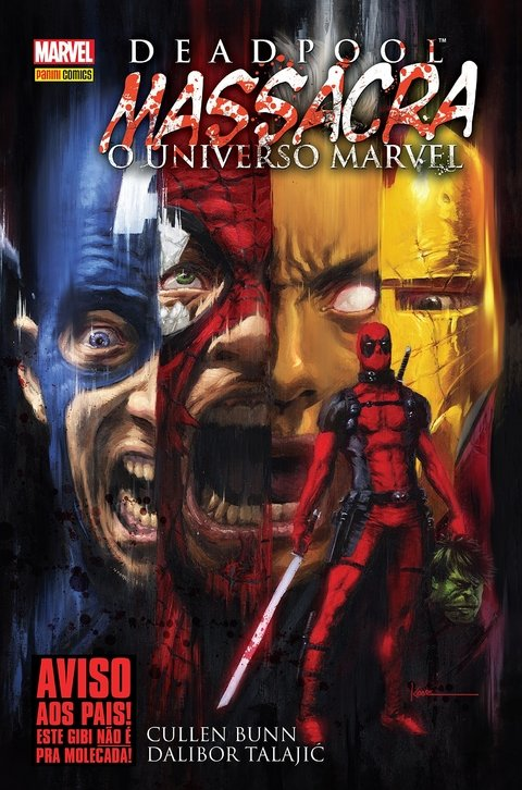 Deadpool Massacra o Universo Marvel