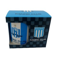 13930 - JARRO CERAMICA RACING CLUB CON CAJA en internet