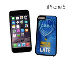39100 - FUNDA CELULAR HOLOGRAMA IPHONE 5 BOCA JUNIORS